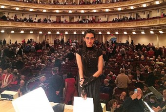 Onstage at Carnegie Hall, a place I thought I'd only know in dreams...