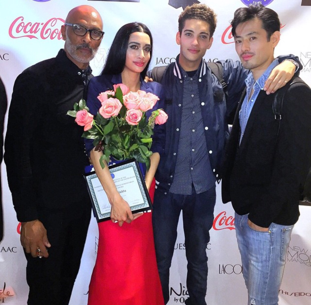 With these amazing male models from New York Model Management!