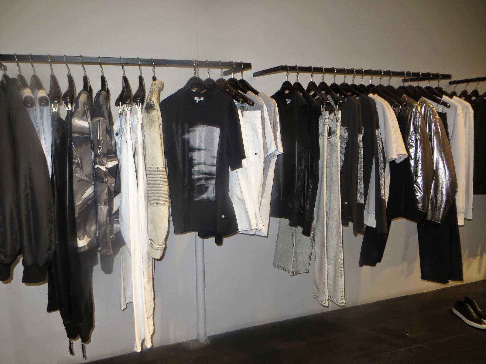 Collection preview at Helmut Lang, exclusively for my guests.