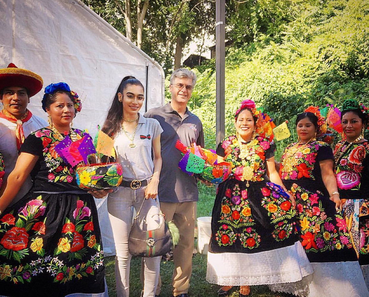 """VIVA MÉXICO Y MUCHAS GRACIAS! Thank you SO MUCH to the Mexican-American community of New York State for having me at LA GUELAGUETZA Mexican Heritage Festival 2016! I'm pictured alongside Orange County Legislator (District 15) Christopher W. Eachus, as I am a young United Nations Ambassador serving the National Council Of Women Of The United States, the oldest women's organization in the country. I WAS PROUD TO STAND WITH MANY DECORATED COMMUNITY LEADERS/PUBLIC FIGURES TO RECOGNIZE & CELEBRATE THE IMPORTANCE & THE GREAT CONTRIBUTIONS OF MEXICO & THOSE OF MEXICAN HERITAGE not only to the world at large but to the United States DIRECTLY!!! From the wondrous Mayan Empire & its innovations to the rich cultural heritage of Mexico, they have been a force since the dawn of modern man. Although some """"politicians"""" have unfortunately made grossly incorrect & irresponsible statements regarding Mexico & those of Mexican descent, NOT ALL OF US WITH A PLATFORM ARE SO IGNORANT! THE UNITED STATES ITSELF WAS BUILT OFF THE SACRIFICES & ACCOMPLISHMENTS OF THE MEXICAN COMMUNITY INCLUDING THEIR OWN LAND AS MOST OF THE WESTERN UNITED STATES WAS ANNEXED FROM MEXICO! MEXICAN HISTORY IS AMERICAN HISTORY & WE DON'T NEED TO """"MAKE AMERICA GREAT AGAIN"""" WE CAN CONTINUE TO WORK TOGETHER TOWARDS A BRIGHT FUTURE AS IT IS ALREADY GREAT THANKS TO THE CONTRIBUTIONS OF MEXICO & THOSE OF MEXICAN HERITAGE! WE SALUTE THE MEXICAN COMMUNITY FROM ALL ETHNICITIES & WALKS OF LIFE AS WE COME TOGETHER TO SAY MUCHAS GRACIAS Y VIVA MÉXICO! AMO A LOS MEXICANOS! BESITOS, FAFA 🇲🇽❤️🌹"""